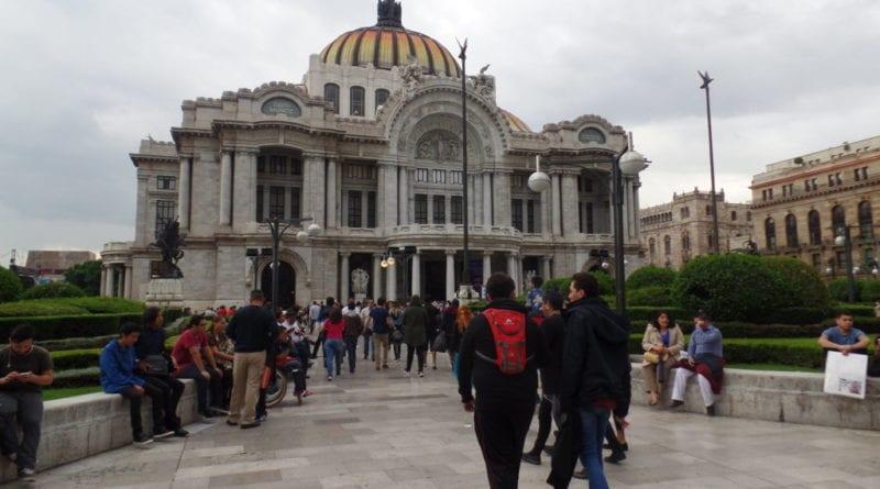 Belas Artes no Centro Histórico da Cidade do México