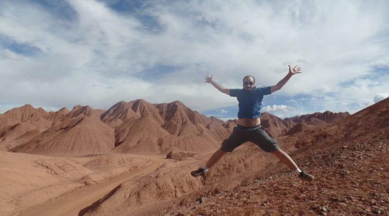 El Arenal, próxima ao Tolar Grande em Salta no norte da Argentina