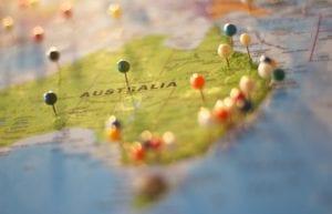Mapa Austrália - Foto-Pexels