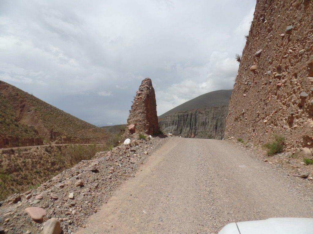 Portal próximo à Iruya, Ruta 13, Argentina