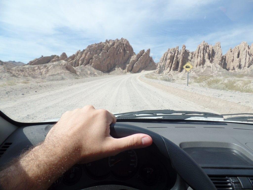 Quebrada las Flechas, Ruta 40, Cafayate para Cachi, Argentina