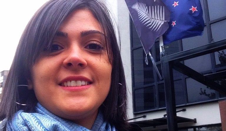 Carla Faki na Nova Zelândia