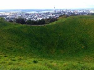 Vista de Auckland, na Nova Zelândia - Arquivo Pessoal Carla Faki