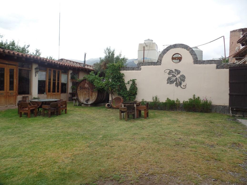 Pequena bodega orgânica, Nanni, em Cafayate, Norte da Argentina
