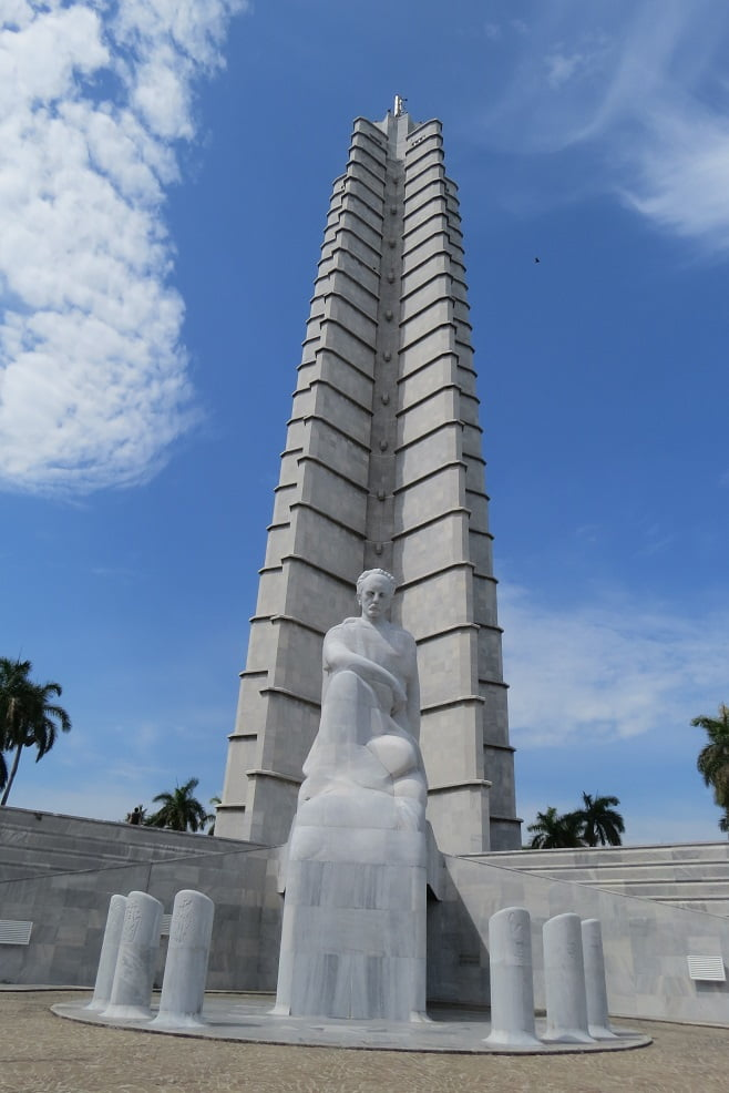 Plaza de la Revolución em Havana, Cuba