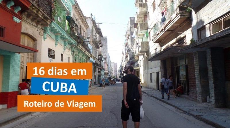Roteiro de viagem de 16 dias em Cuba