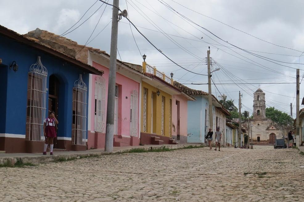 Ruas de Trinidad em Cuba