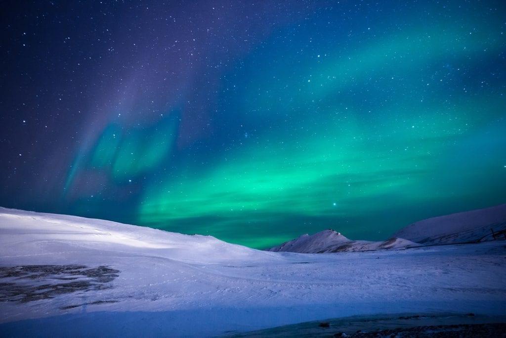 Aurora Boreal - foto Pexels