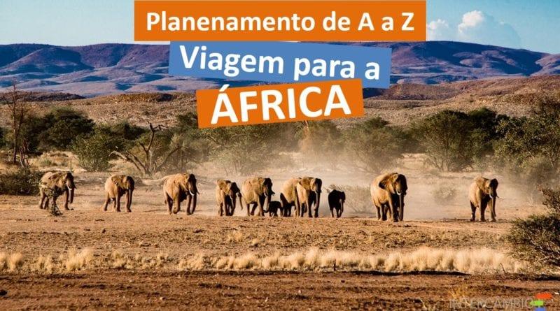 Planejar viagem para a África - Foto Pixabay