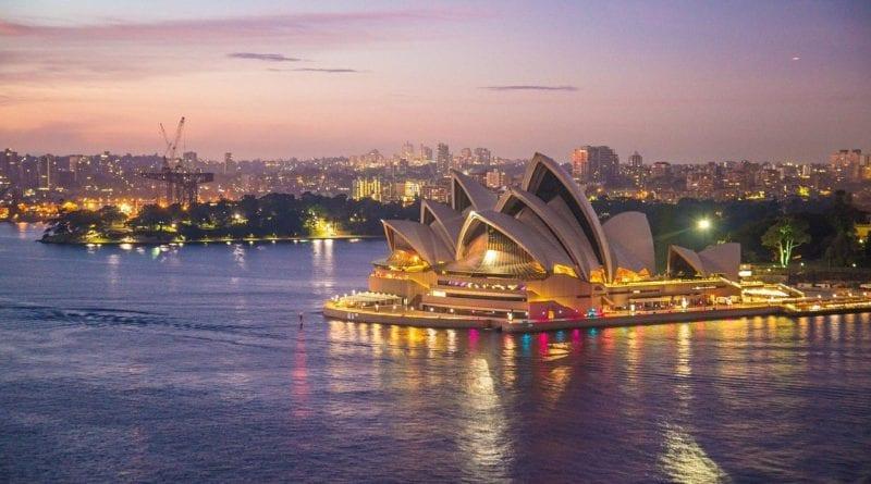 Sydney opera house, Austrália - Foto Patty Jansen por Pixabay
