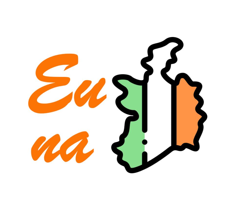Eu na Irlanda - Logo