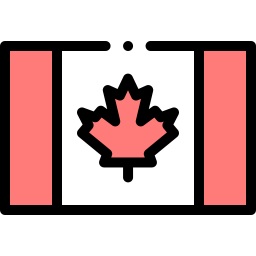 Bandeira do Canada - Icon Freepik