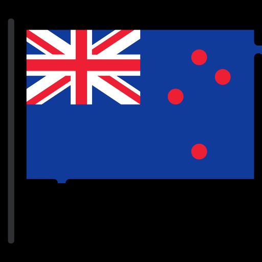 Nova Zelândia - Icone Bandeira - Feepik Falticon