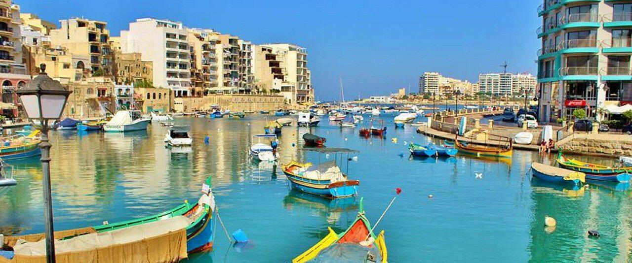 Cais de St Julians em Malta - Foto Michelle Maria por Pixabay