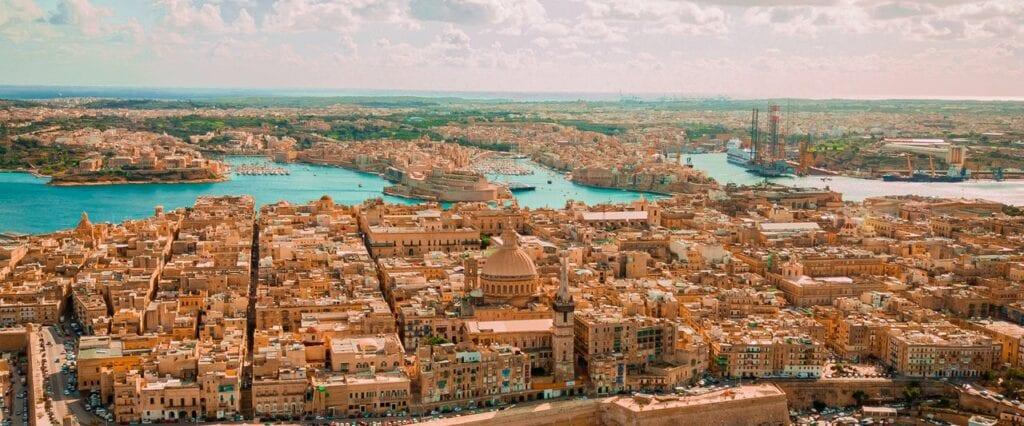 Vista Panorâmica de Valleta, Malta - Foto de Som Thapa Magar no Pexels