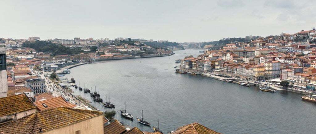 Rio Douro em Porto, Portugal