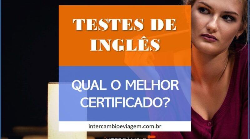 Testes e Certificados de Proficiência de Inglês