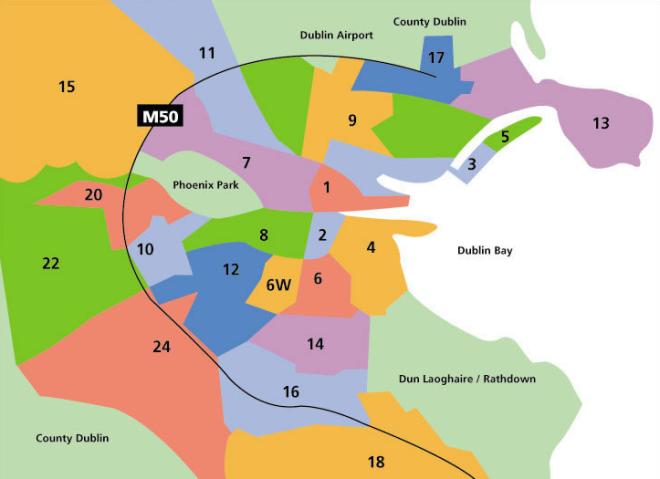 Regiões de Dublin