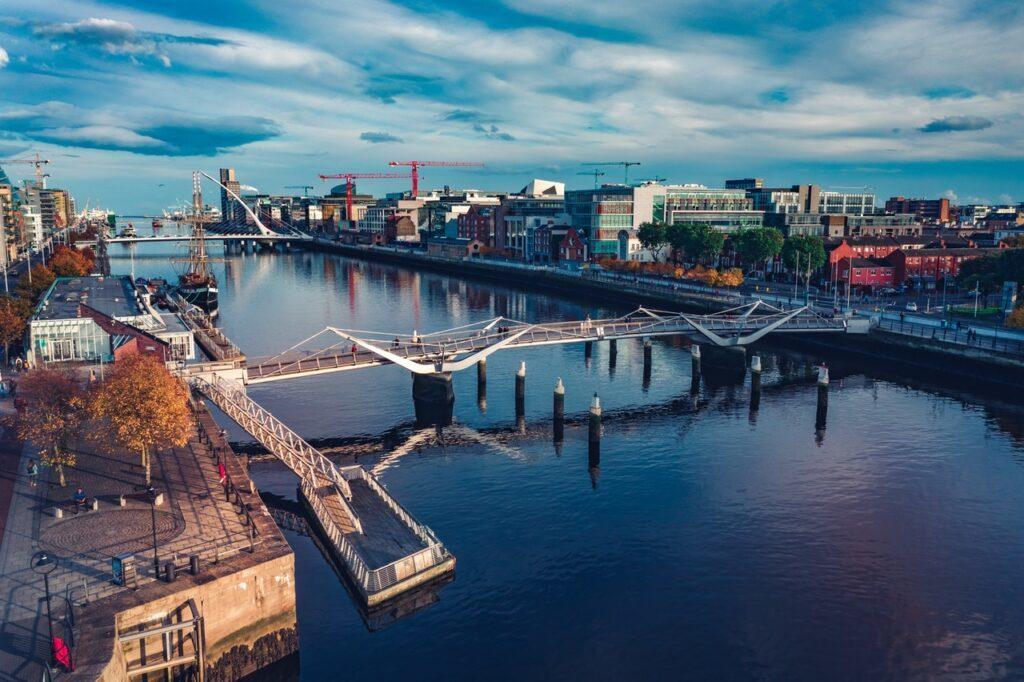 Vista Panorâmica de Dublin, Irlanda