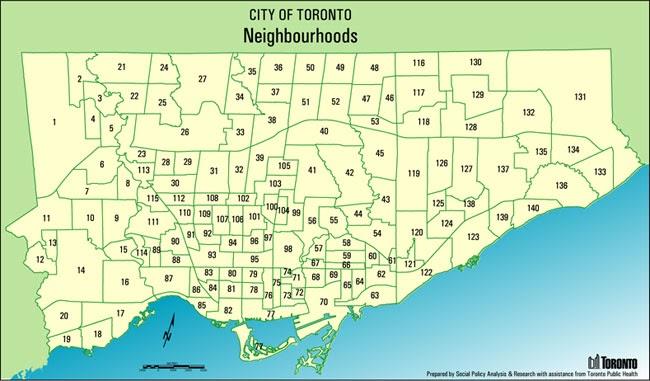 Bairros de Toronto